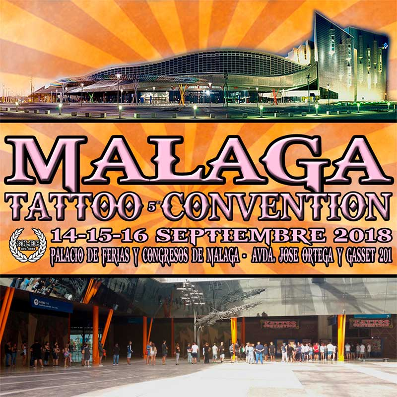 Cartel Málaga Málaga Tatto Convention