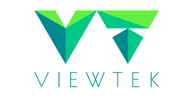 ViewTek vertical logo